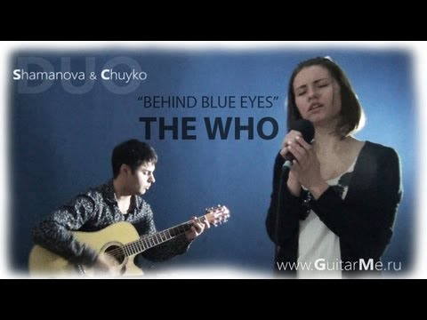 THE WHO - BEHIND BLUE EYES COVER by Shamanova & Chuyko