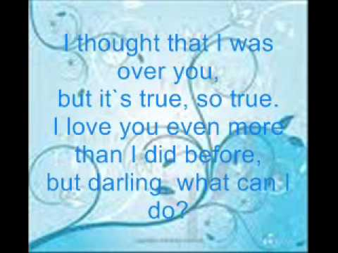 Roy Orbison Crying Lyrics