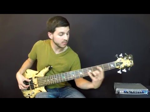 Warwick Custom Shop Thumb NT 6 Bass Demo - Mark Michell - Scale the Summit