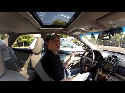 Real Videos: 2012 Toyota Camry Hybrid Drive and Lifestyle Review