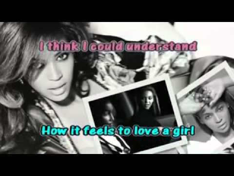 BEYONCE IF I WERE A BOY [Karaoke Instrumental]