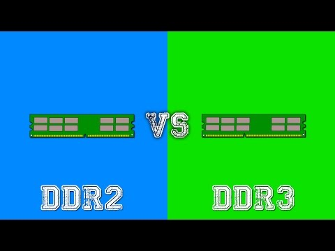 DDR2 vs DDR3 - Comparison