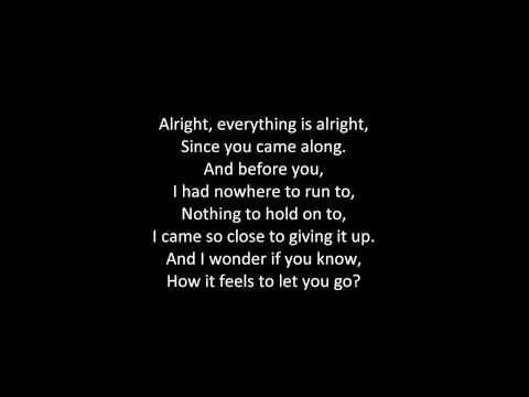 Hurts - Stay (ON SCREEN LYRICS)
