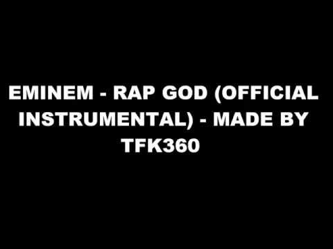 Eminem - Rap God (Official Instrumental) 2014