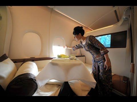 Singapore Airlines A380 FIRST CLASS SUITES: Sydney to Singapore - 1080 [HD] Experience