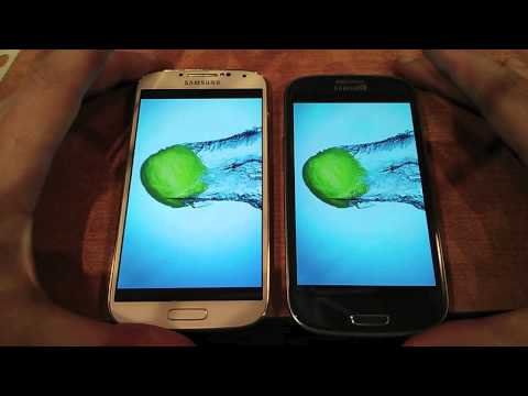 Feel The Samsung Galaxy S4 vs Samsung Galaxy S3 review обзор russian