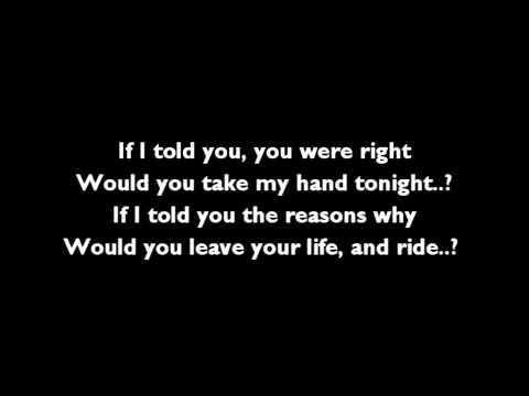 Cary Brothers - Ride [Lyrics]