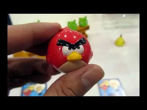 Angry Birds MP3 Mini Player Modelo Vermelho