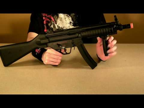 CYMA MP5 RIS CM .041B review
