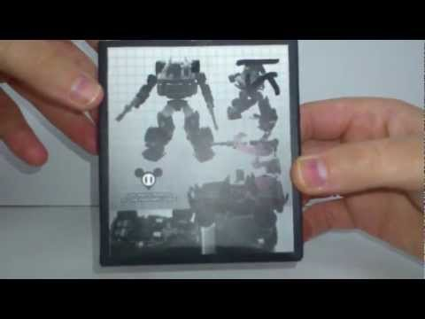 Transformers 3rd party product review - MGS-03 Classic Hound and Ravage upgrade kit