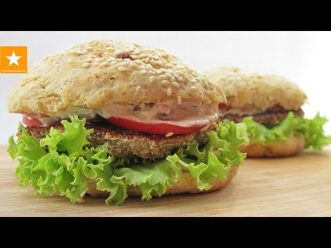 КОТЛЕТЫ без мяса. Вегетарианский ГАМБУРГЕР от Мармеладной Лисицы. Veggie Burger Recipe