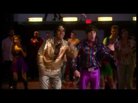 Raj/Howard disco roller skate