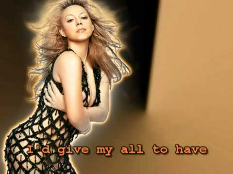 Mariah Carey - My All - Karaoke/Instrumental