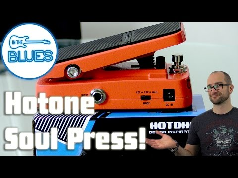 Hotone Soul Press Wah/Volume/Expression Pedal