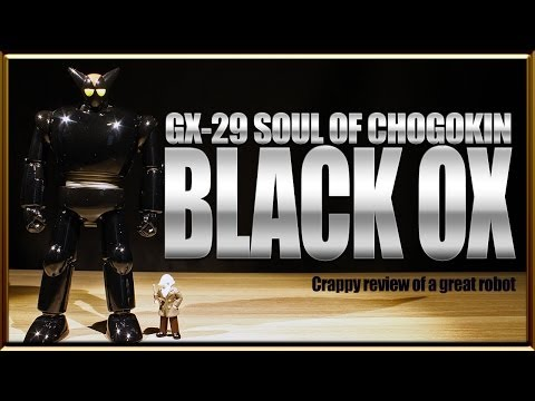 Soul of Chogokin GX-29 Black Ox diecast metal robot review