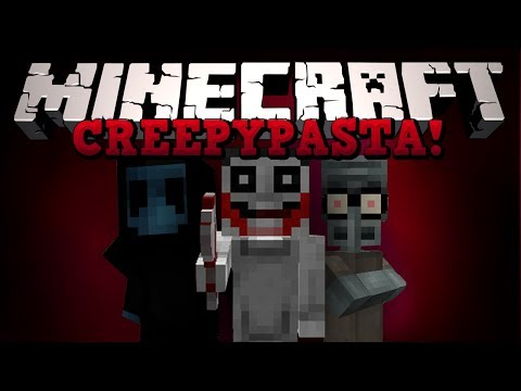 Minecraft: КРИПИПАСТА! (Jeff the Killer, Squidwards Suicide и тд) Обзор модов [CreepyPastaCraft]