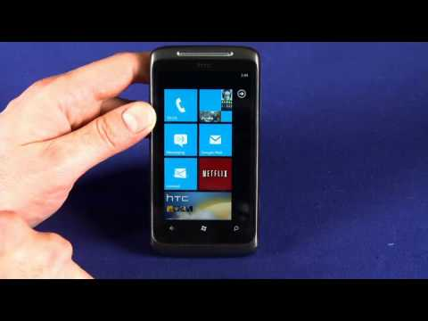 HTC 7 Surround Windows Phone 7 video review